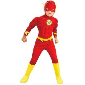 DC Comics The Flash Muscle Chest Deluxe Kid's